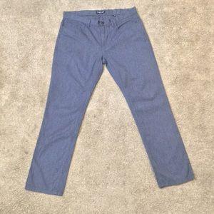 "NWOT Kenneth Cole Grey 100% cotton Dress Pants 34"""